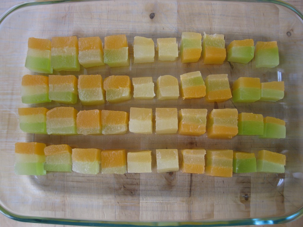 how to make compressed melon