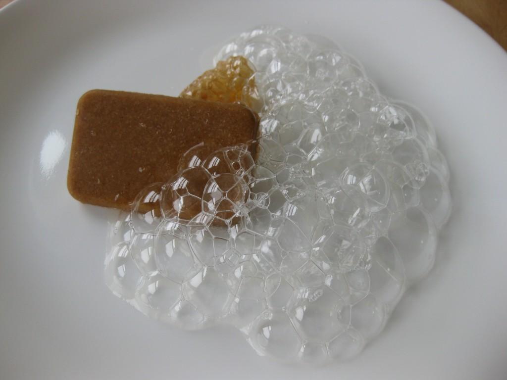 Edible Soap Bar With Honey Bubbles Gratuitous Foodity